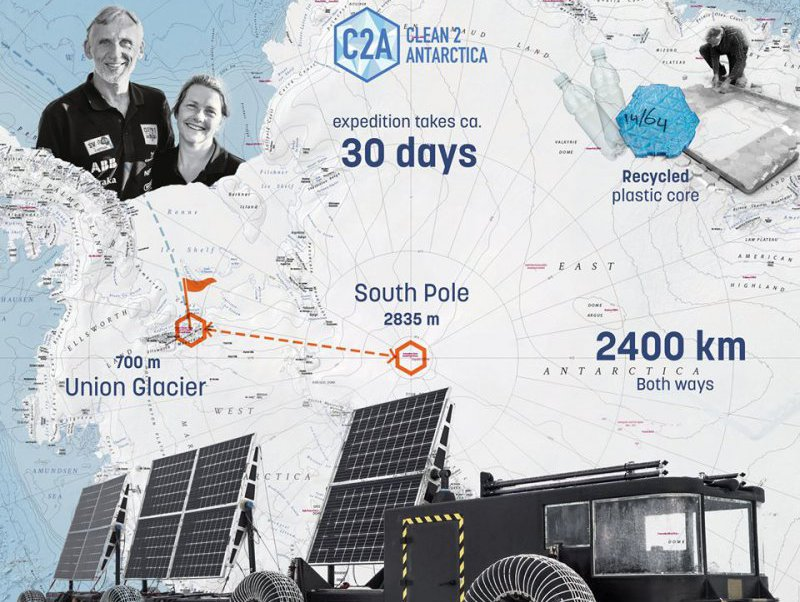 Proud sponsor of the Clean2Antarctica expedition