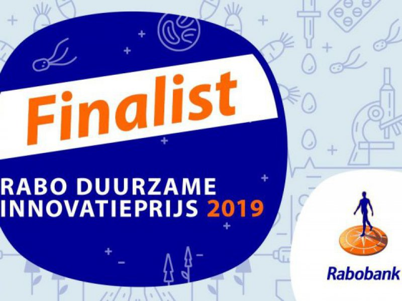 Finalists of Rabobank Duurzame Innovatie Award 2019
