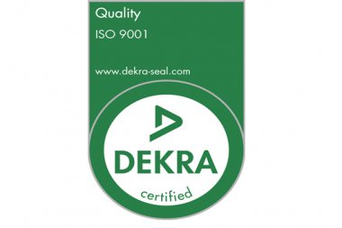 DuFor obtains ISO 9001:2015 certificate