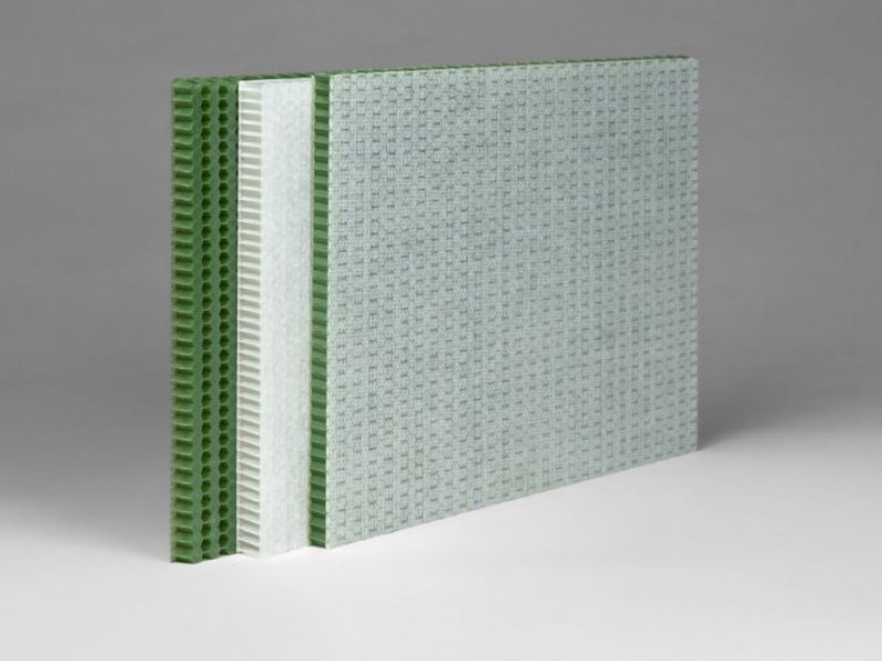 EconCore Teams up with Ultrapolymers and DuFor for Recycled PET Honeycomb Development